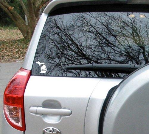Home Michigan White Vinyl Decal Matte Black Decor Decal Skin Sticker Car Truck Sticker