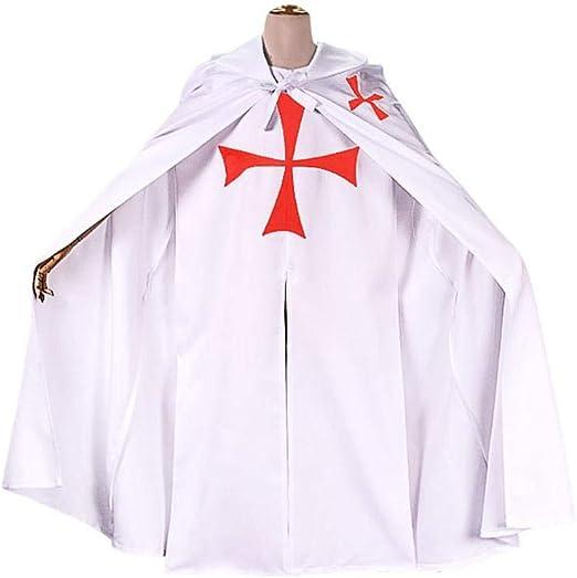 YXRL Traje Medieval Cosplay Traje Templario Disfraces Ropa De ...