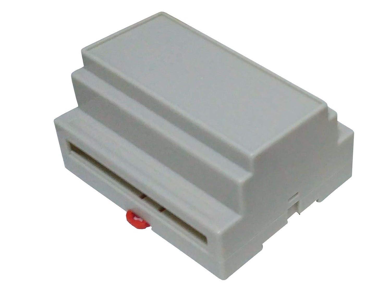 Caja vertical carril DIN en ABS de 107 mm: Amazon.es: Industria ...