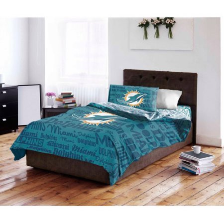 NFL Miami Dolphins Bedding Set, Full by Northwest