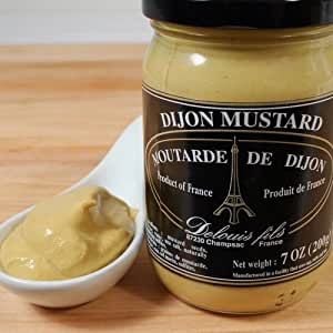French Dijon Mustard - 1 x 7.0 oz by Delouis Fils