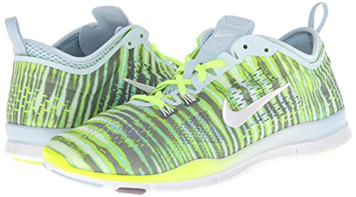 Nike  Free 5.0 Training Fit 4 - Zapatillas de running para Mujer AntarcticWhite/Volt/Purple Stl
