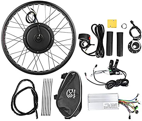 Jacksking Kit de Motor Ebike, Bicicleta eléctrica 48V 1000W Kit de ...