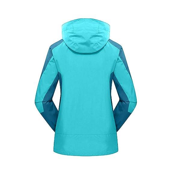 Linlink Liquidación Abrigo de para Mujer de Vestido Invierno Traje al Aire Libre de Dos Piezas Tres en una Capa Impermeable Transpirable: Amazon.es: Ropa y ...