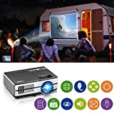Best Mini Projectors - LCD Mini Projector with Bluetooth WiFi HD Smart Review