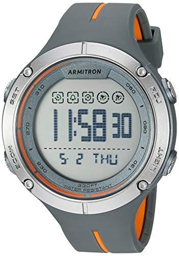 ساعت مچی مردانه دیجیتال مدل 40/8456OGY آرمیترون با بند پلاستیکی