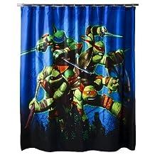 Nickelodeon Teenage Mutant Ninja Turtles Heroes Shower Curtain by Nickelodeon