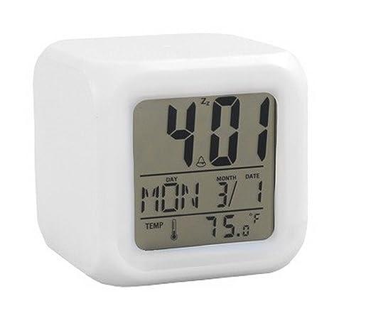 Reloj Proyector con Temperatura interior y exterior cambia ...