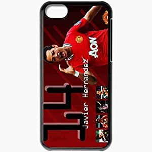Personalized iPhone 5C Cell phone Case/Cover Skin 2013 chicharito Black