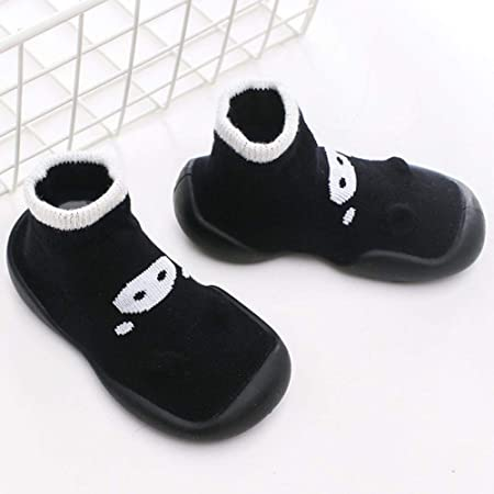 Baby Socks With Rubber Soles Cartoon