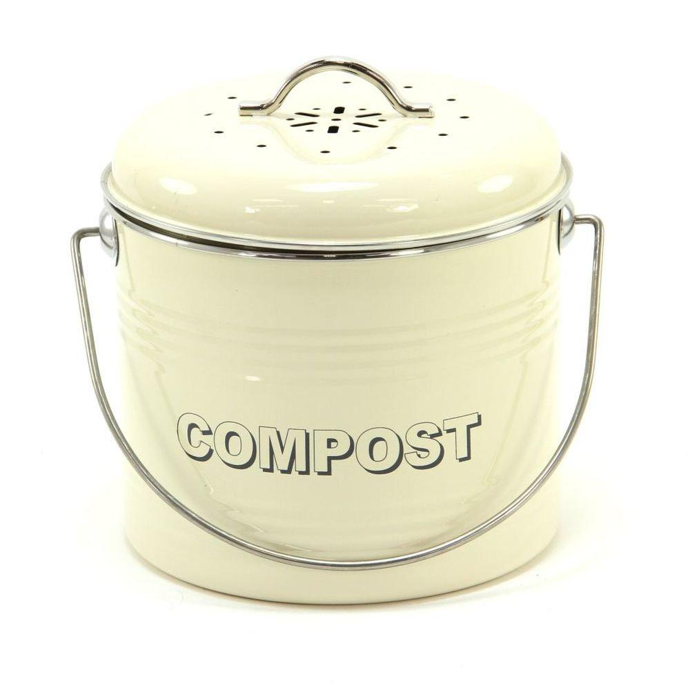Groß Küche Kompost Crock Schwarz Zeitgenössisch - Küchenschrank ...