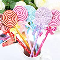 Stonges Ballpoint Pen Novelty Kids Toys Cute School Stationery Gift (Pack of 5: random color)