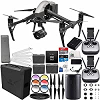 DJI Inspire 2 Premium Combo with Zenmuse X5S and CinemaDNG and Apple ProRes Licenses Videographer 480G PRO Essential Bundle