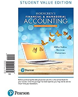 Horngrens financial managerial accounting 6th edition tracie l horngrens financial managerial accounting the financial chapters student value edition plus mylab accounting fandeluxe Images