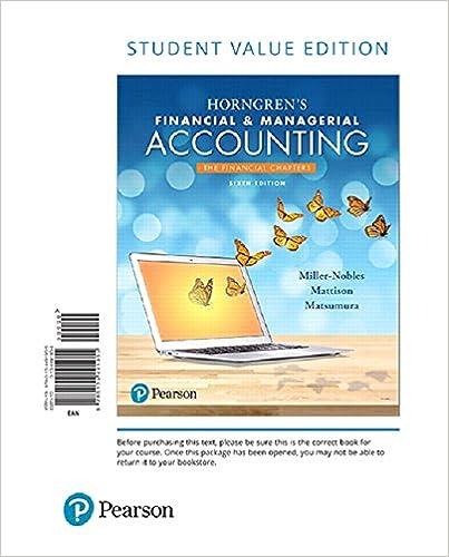 Horngren's Fin.+...:Finan.(Ll) W/Access
