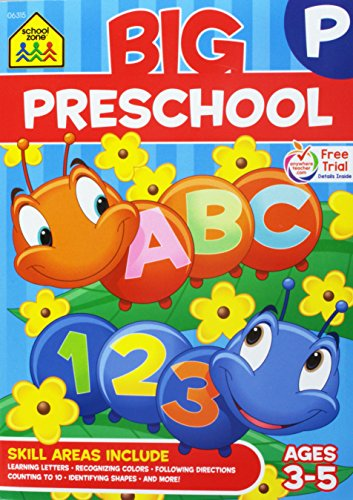 Big Workbook-Preschool - Ages 3-5
