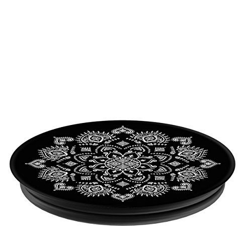 PopSockets: Collapsible Grip & Stand for Phones and Tablets - Quiet Darkness Mandala
