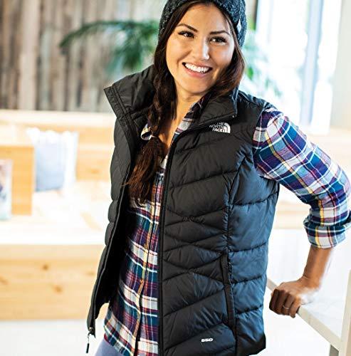 The North Face Women's Alpz Down Hybrid Vest TNF Black Vest (Medium)