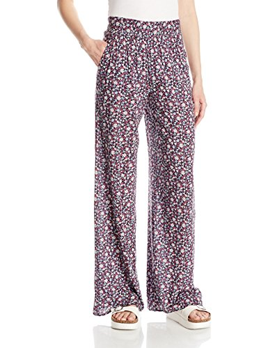 BCBGeneration Women's Palazzo Pant, Deep Red Combo, Medium