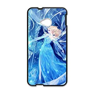 HGKDL Frozen Snow Queen Princess Elsa Cell Phone Case for HTC One M7