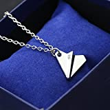 Trendy Four-color Mini Paper Airplane Triangle