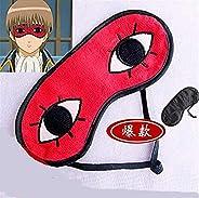 Gintama Okita Sougo Anime Eye Mask Eyeshade Sleeping Aid Eyepatch Silver Soul