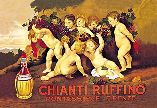 (ArtParisienne Chianti Ruffino Leopoldo Metlicovitz Wall Decal 24