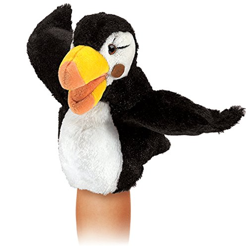 Folkmanis Little Puffin Hand Puppet Image