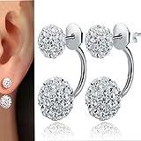NEARTIME ❤️Women Earrings, Clearance Fashion Holiday Sale Women Jewelry Rhinestone Austria Crystal Pendant Hoop Earrin