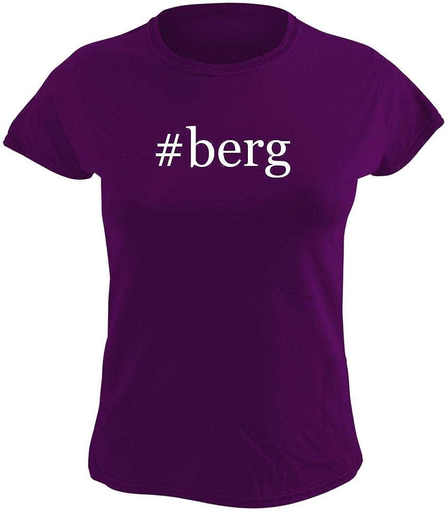 #berg - Women's Hashtag Graphic T-Shirt, Purple, Small