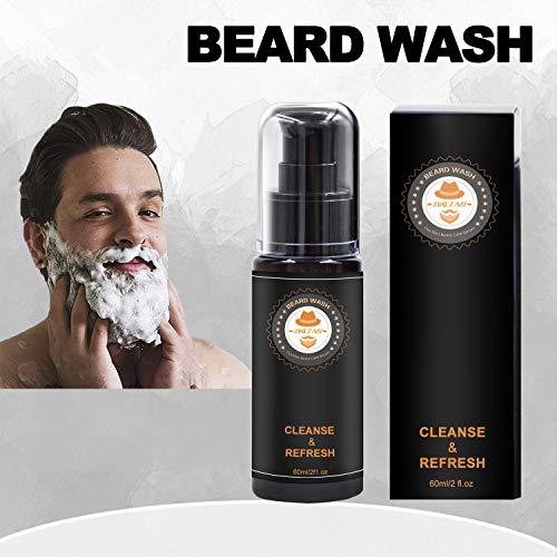 Upgraded Beard Grooming Kit w/Beard Conditioner,Beard Oil,Beard Balm,Beard Brush,Beard Shampoo/Wash,Beard Comb,Beard… 4