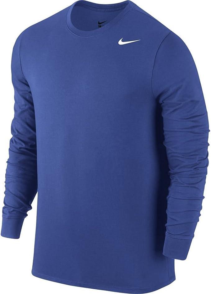 Nike para hombre Dri-fit 2.0 de manga larga algodón camiseta de entrenamiento - -: Amazon.es: Ropa y accesorios