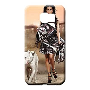 samsung galaxy s6 Protection PC Skin Cases Covers For phone mobile phone carrying skins Girls Pitbull