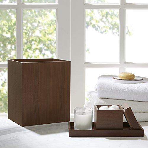Walnut Bathroom Accessories (Walnut 3 Piece Bath Accessory Set Brown See below)