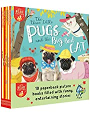 Ten Funny Stories: Great Cheese Robbery; Great Monster Hunt; Hiccupotamus; Lamb for Dinner; Poo in the Zoo; Scaredy Mouse; Three Little Pugs; Very Lazy Ladybug; Warning