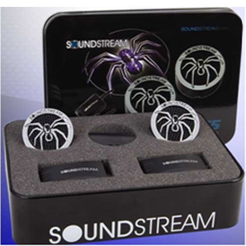 Soundstream Twt.5 1 110w PIE Dome Tweeters 4 Ohm, Model: TWT.5, Electronics & Accessories Store by Soundstream