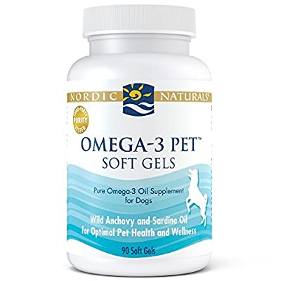Omega 3 Pet - Special Dog Formula Fish Oil Omega-3s, EPA, DHA Supports Skin, Coat, Joint, Heart and Overall Health in Triglyceride Form for Optimal Absorption by Nordic Naturals