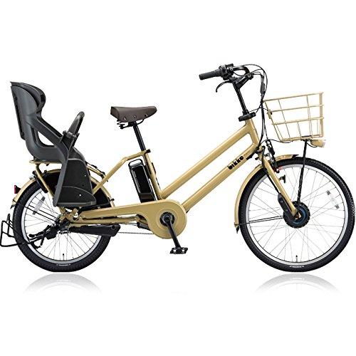 ブリヂストン(BRIDGESTONE) ビッケグリ(bikke GRI) dd BG0B48 前 24インチ 後 20インチ 電動アシスト自転車 専用充電器付 B0764892RF E.Xランドベージュ E.Xランドベージュ