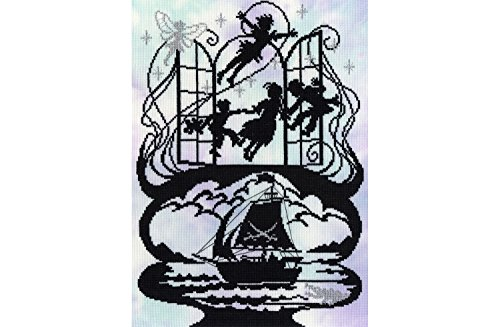 Peter Pan Cross Stitch Kit