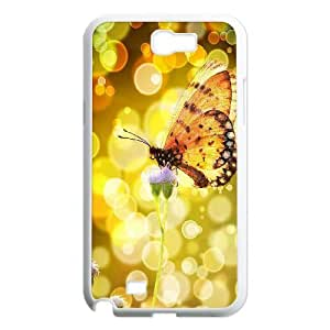Butterfly ZLB537947 Customized Case for Samsung Galaxy Note 2 N7100, Samsung Galaxy Note 2 N7100 Case
