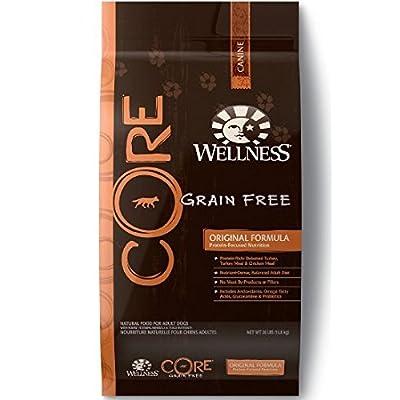 Wellness CORE Natural Grain Free Dry Dog Food - Original Recipe - 12lb