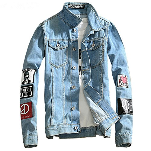 Co Embroidered Denim Jacket - 7
