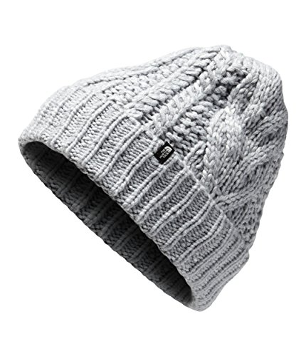 The North Face Unisex Cable Minna Beanie TNF Light Grey Heather One Size
