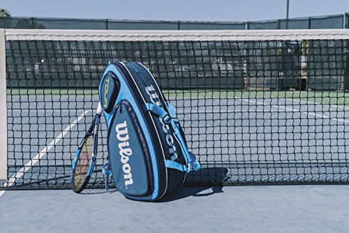 Wilson Tour V Collection Racket Bag, Blue