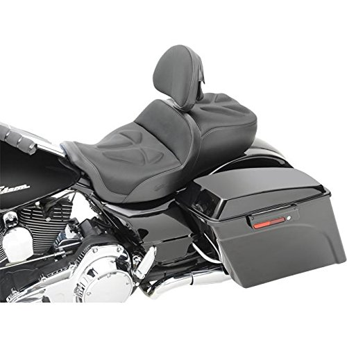 Saddlemen Explorer G-Tech Seat with Backrest - Saddlemen Gel Seat Explorer
