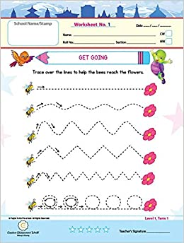 Buy Purple Turtle Worksheets Combo For Nursery English Maths Evs 100 Worksheets 100 Pages 50 Leafs Book Online At Low Prices In India Purple Turtle Worksheets Combo For