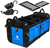 TRUNKCRATEPRO Collapsible Portable Multi Compartments Heavy Duty Non-Slip Cargo Trunk Organizer Storage, Blue: more info