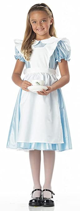 Amazon.com: Girl's Alice in Wonderland Costume by California ...