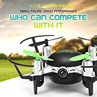 Creazy JJRC H30CH Altitude Hold HD Camera RC Quadcopter Drone With 2.0MP Camera BK