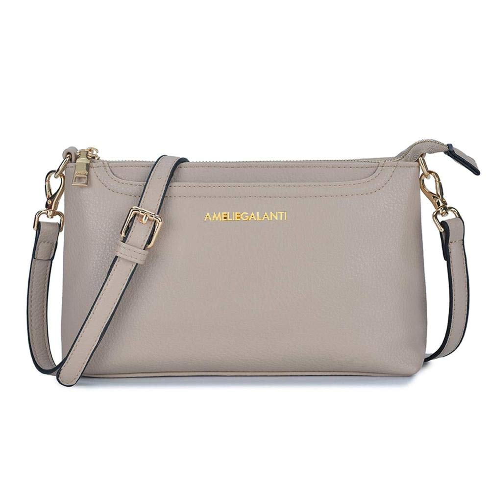 Crossbody Bags for Women Lightweight Purses and Handbags PU Leather Small Shoulder Bag Satchel with Adjustable Strap